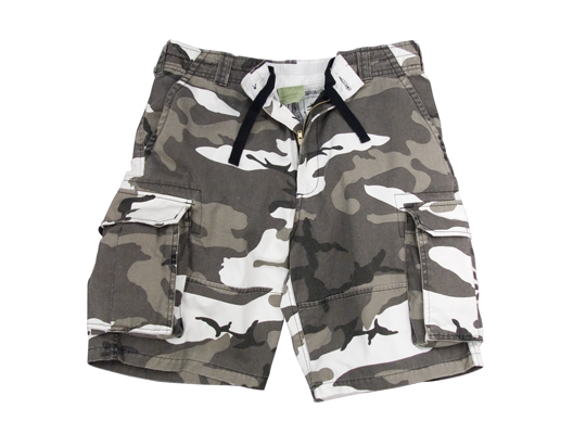 9aab6eb8ba Vintage Paratrooper Cargo Shorts, City Camouflage
