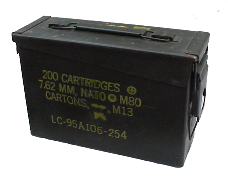 Ammo Can 30 Caliber 7 62mm
