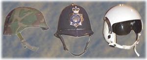 Assorted Helmets