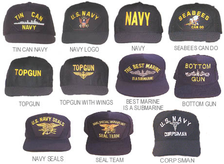 8bec1ec7731 Navy Ball Caps