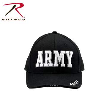 Rothco Deluxe Army Embroidered Low Profile Insignia Cap 6ada549b2675