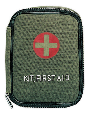 First Aid, Survival & Emergency Preparedness Items Mystic Army Navy offers a complete selection of first aid, survival & emergency preparedness items ranging from  gas masks to surgical sets, snake bite kits, insect repellent, rescue bags and a  variety of first aid and trauma kits.