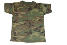 Camouflage T-Shirts Camouflage T-Shirts in long sleeve and short sleeve in a variety of colors.