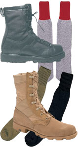 Footwear, Socks and Accessories