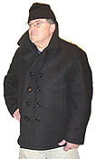 USN Wool Peacoats by Schott The classic U.S. Navy peacoat made by Schott in New York City.