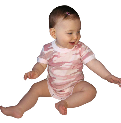 Just for Baby Be unique. Camouflage clothing for babies. Onsies, Tee Shirts, Bibs and More