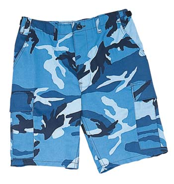 Ultra Force Tri-Color Desert Camo BDU Combat Shorts