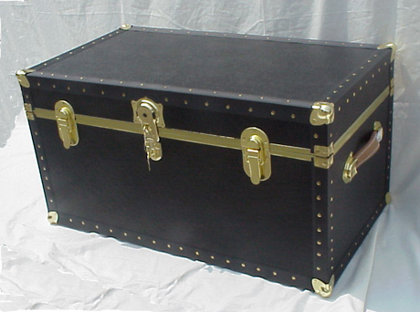 packing trunk dorm trunk oversize footlocker