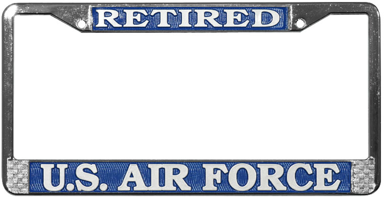 Us Air Force Retired Frame
