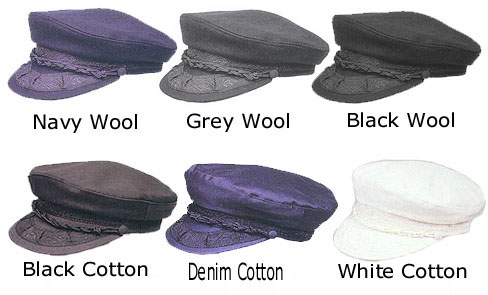 6cdcfcdfe10 Greek Fisherman Hats - Wool   Cotton